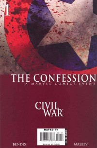 Civil War The Confession 1st Ptg (Follow Up To Captain America Vol 5 #25)