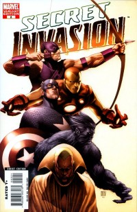 Secret Invasion #2 Cover B Incentive Steve McNiven Variant Cover