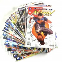 Action Comics #0-19 + Annual Grant Morrison