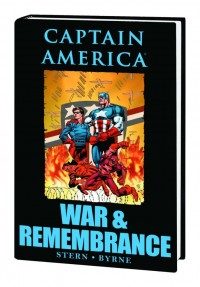 Captain America War & Remembrance HC Premiere Edition Book Market Cover