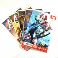 Avengers World Set #1-5 (2014)
